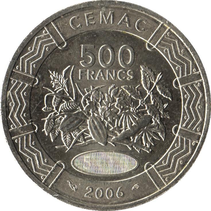 500 Francs Cfa