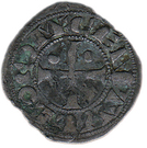 Obole centulle (Béarn) – obverse