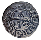 Denier Jean 1er de Grailly (1412-1436) – reverse