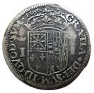 Teston Jeanne d'Albret (seule) 1562-1572 – reverse