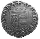 Douzain à la croisette - Henri d'Albret (1516 - 1555) – obverse