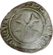 Blanc Catherine de Navarre (1483-1484) – reverse
