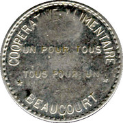 20 Centimes - Cooperative Alimentaire – obverse