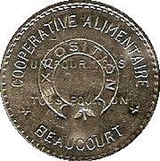 10 Centimes - Coopérative Alimentaire – obverse