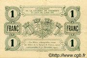 1 Franc - Chambre de Commerce de Beauvais et de l'Oise [60] – reverse