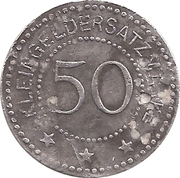 50 Pfennig - Beckum – reverse
