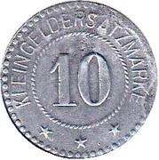 10 Pfennig - Beckum – reverse