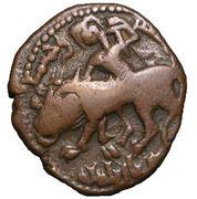 Dirham - Muzaffar al-Din Kokburi (Lion-rider type - Irbil mint - Begteginids of Erbil) – obverse