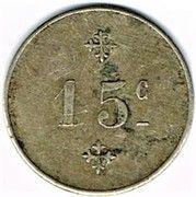 15 centimes - Joseph Wersinger (Belfort (90) – reverse