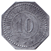 10 Pfennig - Belgern – reverse