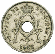 10 Centimes - Albert  I (french text; with star) – obverse