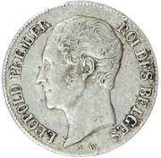 20 Centimes - Léopold I – obverse