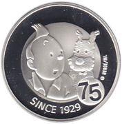 10 Euro - Albert II (Tintin) – reverse