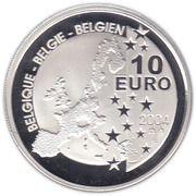 10 Euro - Albert II (Tintin) – obverse