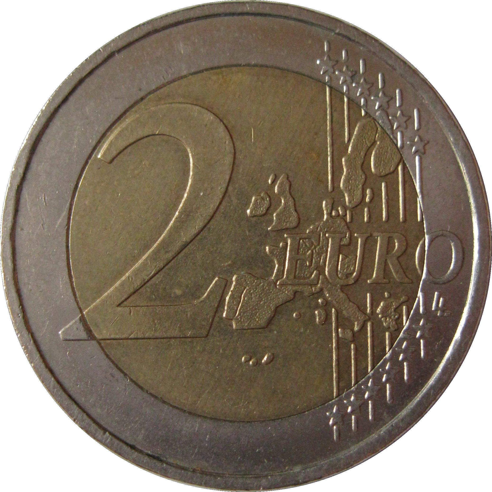 2 euro albert ii belgium luxembourg economic union. Black Bedroom Furniture Sets. Home Design Ideas
