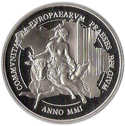 500 Francs - Albert II (Europa and the Bull) – obverse