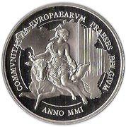 500 Francs - Albert II (Belgian EU Presidency) – obverse