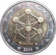 2 Euro - Albert II (Brussels Atomium) – obverse