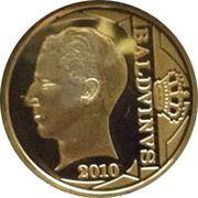 12½ Euro - Albert II (King Baudouin I - Dynasty Anniversary) – obverse