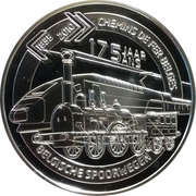 5 Euro - Albert II (Belgian Railroads) – reverse