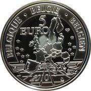 5 Euro - Albert II (Belgian Railroads) – obverse