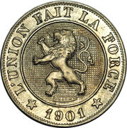 10 Centimes - Léopold II (French text) -  obverse