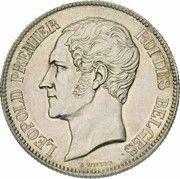 2 Francs - Léopold I – obverse