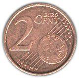 2 Euro Cent - Albert II (2nd type, 2nd portrait) – reverse