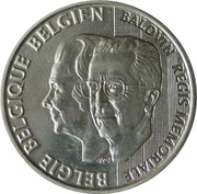 250 Francs - Albert II (Death of Baudouin / Birthday of Fabiola) – obverse
