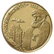 5000 Francs - Albert II (Charles V) – obverse