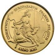 5000 Francs - Albert II (EU Presidency) – obverse