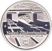 10 Euro - Albert II (Belgian Railway) – reverse
