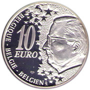 10 Euro - Albert II (Belgian Railway) -  obverse
