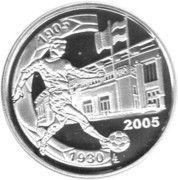 10 Euro - Albert II (Derby / Stadium Anniversary) – reverse