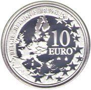 10 Euro - Albert II (Derby / Stadium Anniversary) – obverse