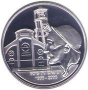 10 Euro - Albert II (Bois du Cazier) – reverse