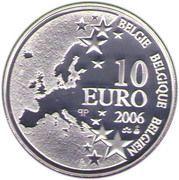 10 Euro - Albert II (Bois du Cazier) – obverse