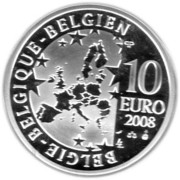 10 Euro - Albert II (Olympic Games) – obverse