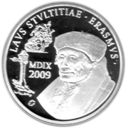 10 Euro - Albert II (Erasmus) – reverse
