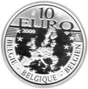 10 Euro - Albert II (Erasmus) – obverse