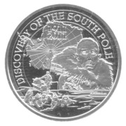 10 Euro - Albert II (Discovery of South Pole) – reverse