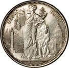 5 Francs - Léopold II (50 Years of Belgium) – reverse