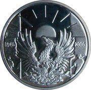 10 Euro - Albert II (Armistice Anniversary) – reverse