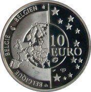 10 Euro - Albert II (Armistice Anniversary) – obverse
