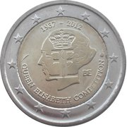 2 Euro - Albert II (Queen Elizabeth Music Competition) – obverse