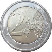 2 Euro - Albert II (Queen Elizabeth Music Competition) -  reverse