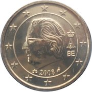 10 Euro Cent - Albert II (2nd map, 2nd type, 2nd portrait) – obverse
