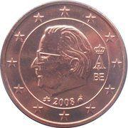 2 Euro Cent - Albert II (2nd type, 2nd portrait) – obverse