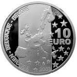 10 Euro - Albert II (Georges Simenon) – obverse