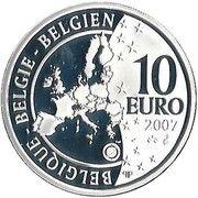 10 Euro - Albert II (International Polar Year) – obverse